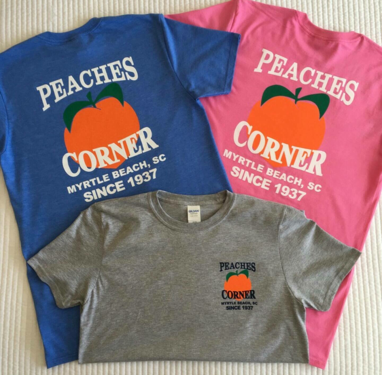 Peaches Corner T-Shirt