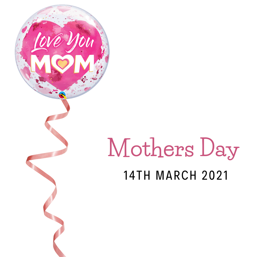 Helium filled Mothers Day Balloon