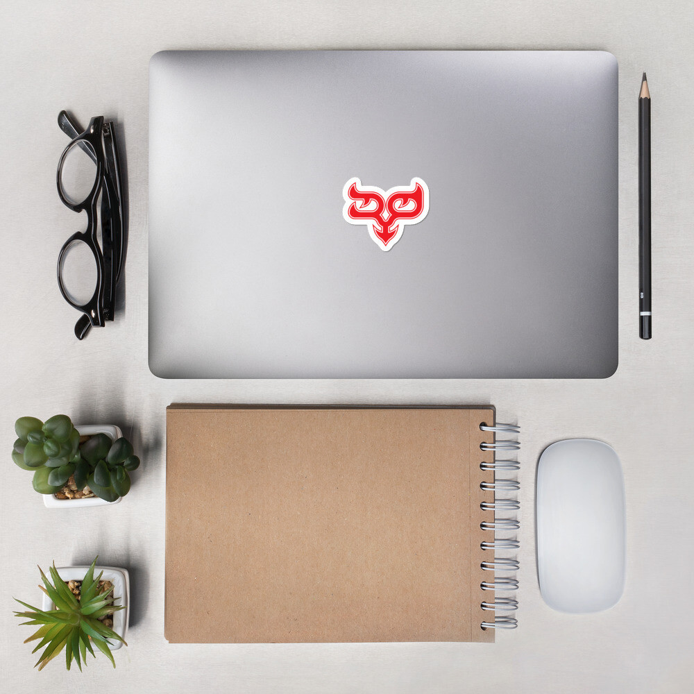 Red Ryo Logo Bubble-free Sticker