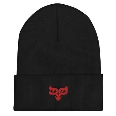 Red Ryo Logo Cuffed Beanie