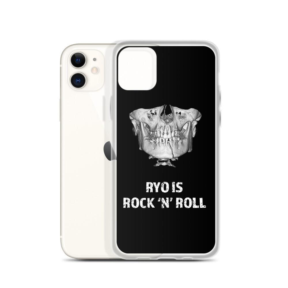 """Ryo is Rock'N'Roll"" Broken Jaw iPhone Case"