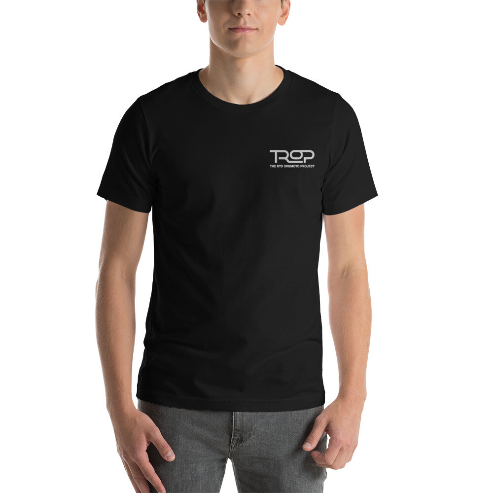 TROP Embroidered Short-Sleeve Unisex T-Shirt