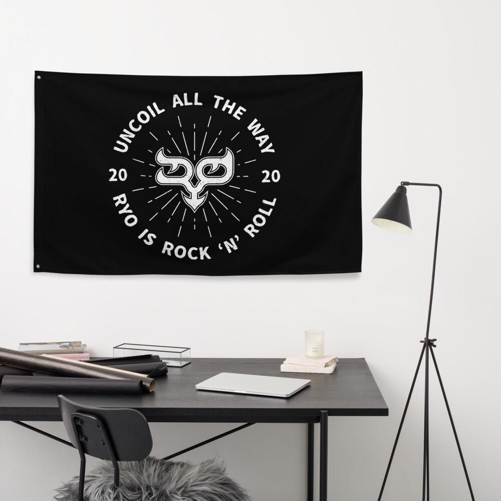 Ryo B&W Uncoil Flag