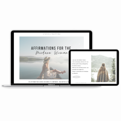 Affirmations For The Modern Woman