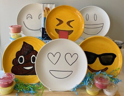 Take Home Emoji Birthday Party Kit - Pick Up Curbside or Delivery