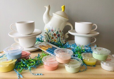 Take Home Tea Party Birthday Kit  - Pick Up Curbside or Delivery