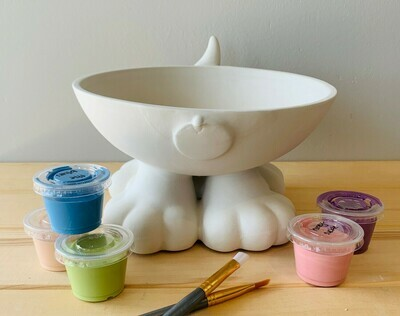 Dog Paw Bowl