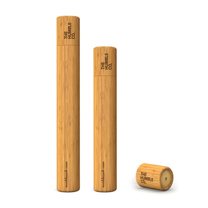 Bamboe tandenborstelkoker