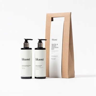 Likami Bath & Body Lotion Kit