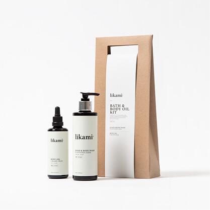 Bath & Body Oil Kit