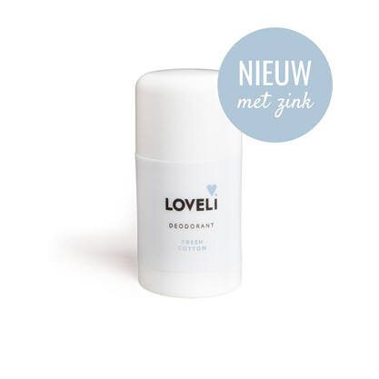 Loveli Deodorant Fresh Cotton