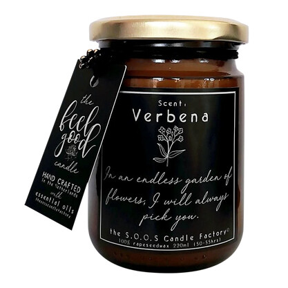 The Feel Good Candle: Verbena