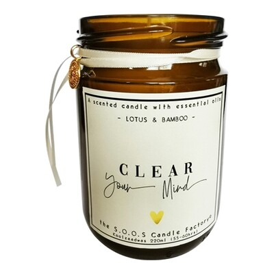 The Feel Good Candle: Clear your mind