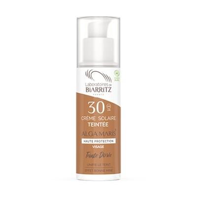 Getinte zonnecrème - Dorée SPF30