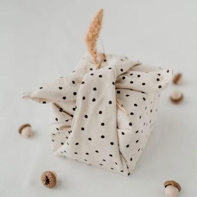Herbruikbaar geschenkpapier uit stof
