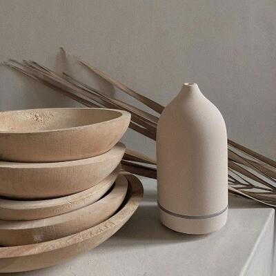 Aroma Diffuser in keramiek - Wit
