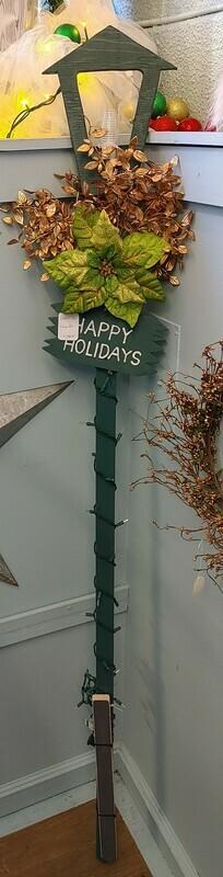 Happy Holidays Lamp post