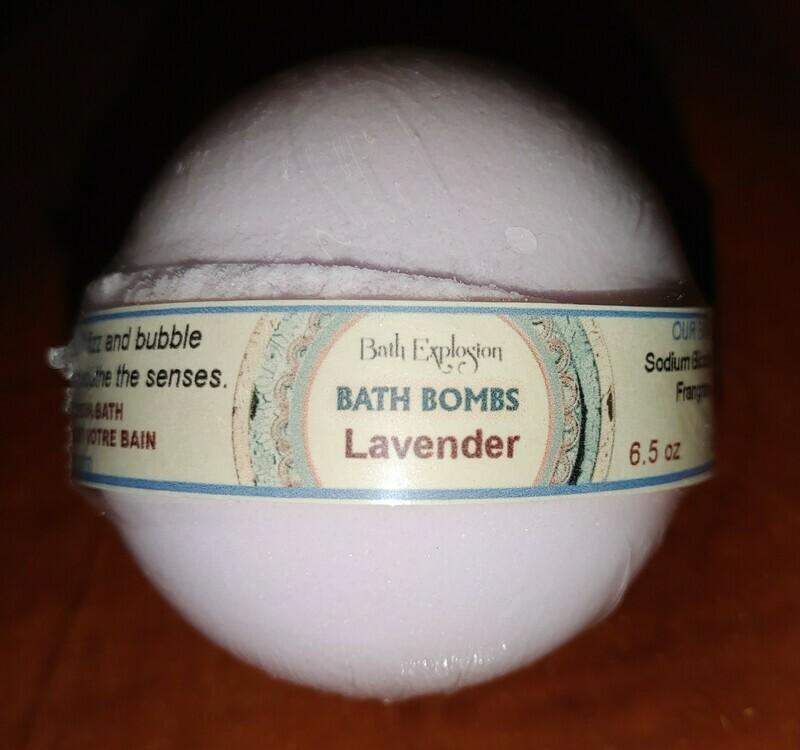 Bath Explosion Bath Bomb - Lavender