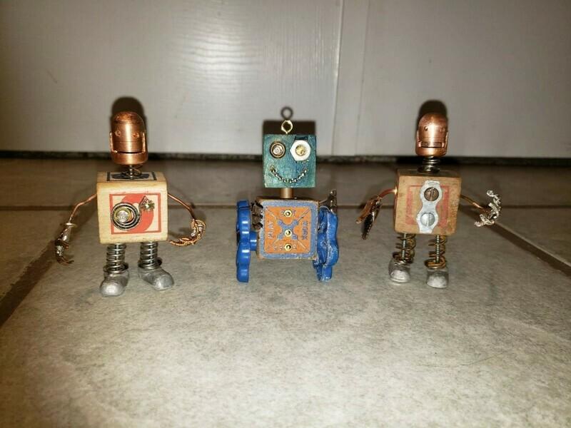 Assemblage Art Minibots