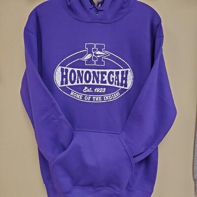 Hononegah Hooded Sweatshirt, Purple