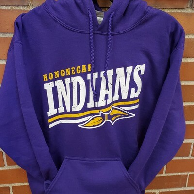 Hononegah Hooded Sweatshirt, Purple ***LIMITED STOCK