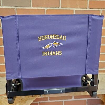Purple Stadium Chair, Hononegah Embroidery