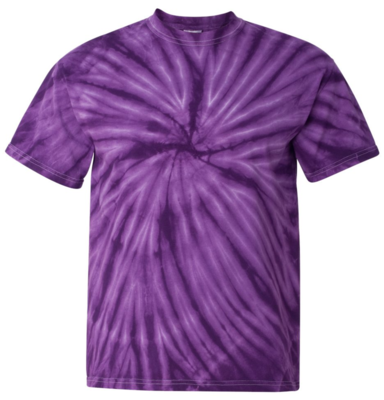 Purple Tie Dyed T-shirt