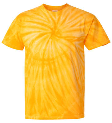 Gold Tie Dyed T-shirt