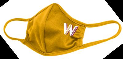 Rockton Warriors Face Mask, Gold