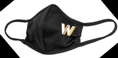 Rockton Warriors Face Mask, Black