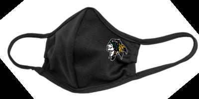 Roscoe Braves Face Mask, Black