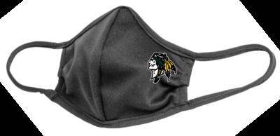 Roscoe Braves Face Mask, Graphite