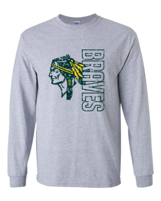 Braves Long Sleeve T-shirt, 3 colors available