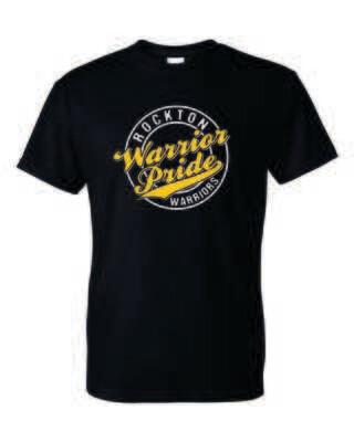 Rockton Warrior Pride T-shirt, 3 Colors Available