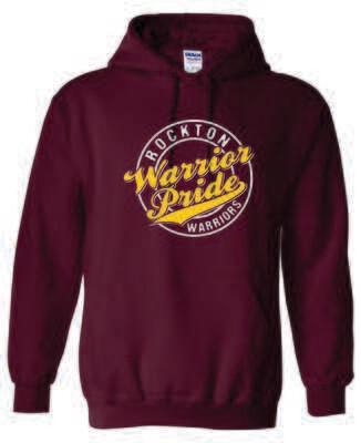 Rockton Warrior Pride Hooded Sweatshirt, 2 Colors Available