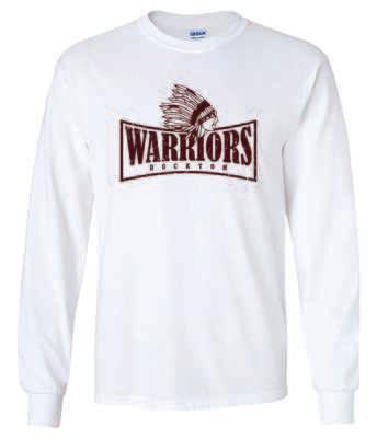 WARRIORS, Rockton, Long Sleeve T-shirt, 3 Colors Available