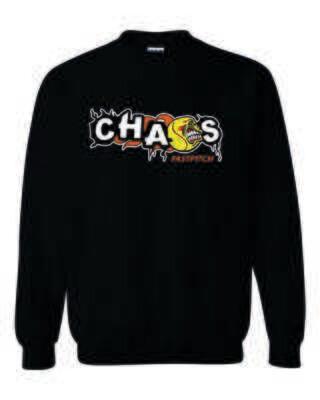 CHAOS FASTPITCH CREWNECK SWEATSHIRT, 3 Colors Available
