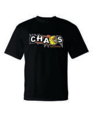 CHAOS FASTPITCH PERFORMANCE T-SHIRT, 5 Colors Available