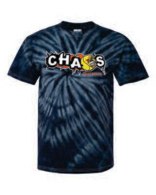CHAOS FASTPTICH TIE DYED T-SHIRT, 3 Colors Available, Adult