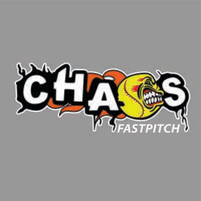 CHAOS FASTPITCH CAR DECAL