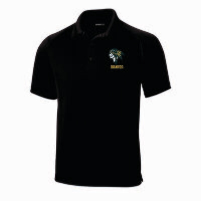 BRAVES Embroidered Polo, 3 Colors Available