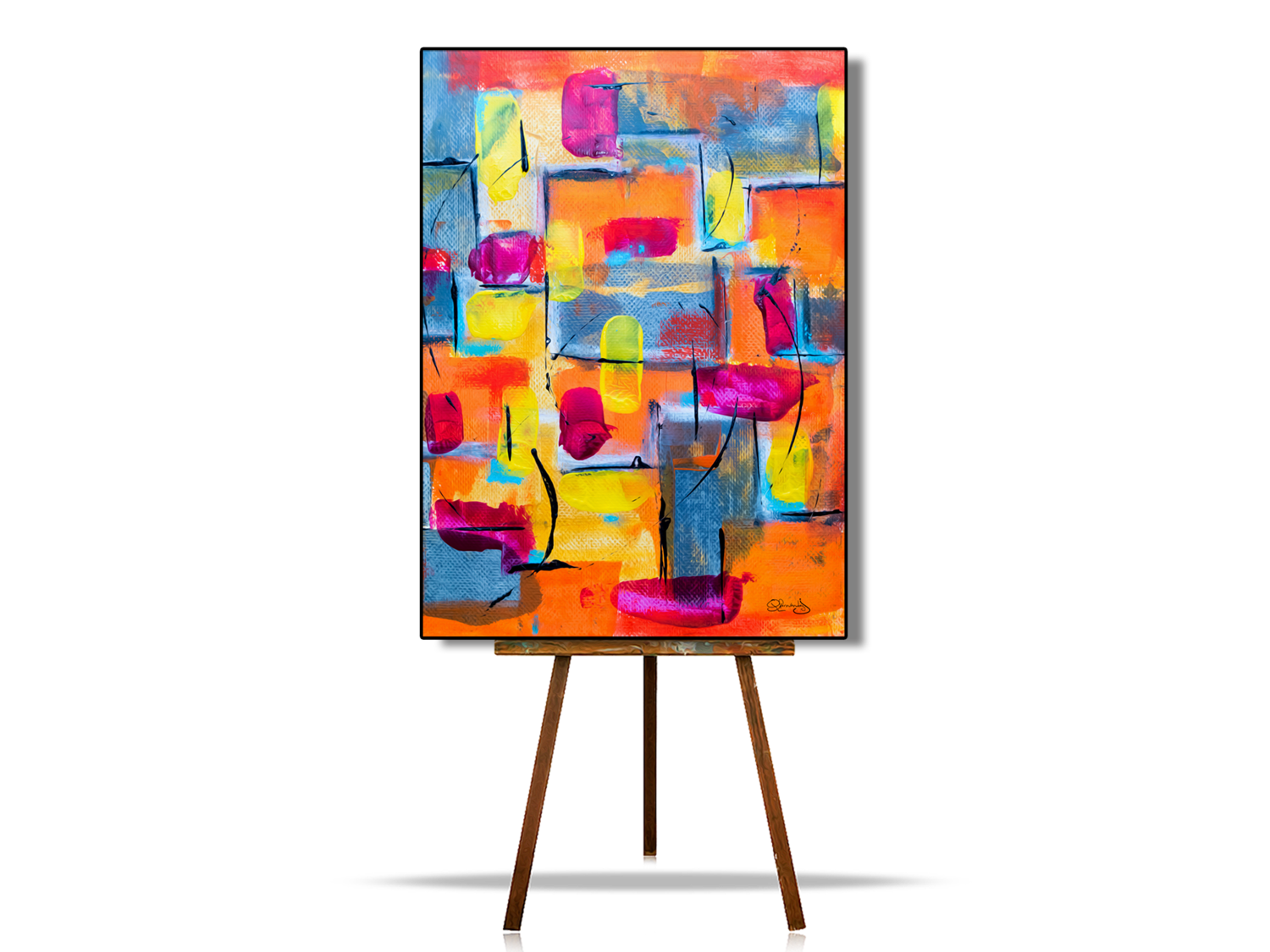 Geometric Abstract Wall Art, Abstract Home Decor Wall Art, Abstract Canvas Wall Art Prints, Affordable Canvas Art & Prints, Abstract Painting, Abstract Art, Contemporary Art, Abstract Canvas Art Ideas