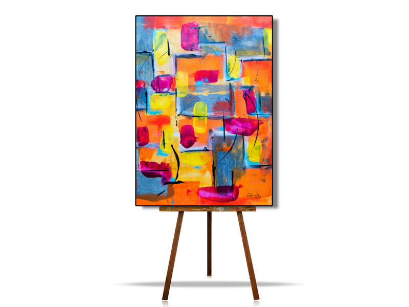 Abstract Art Geometric Shapes, Modern Abstract Art, Geometric Abstract Wall Art