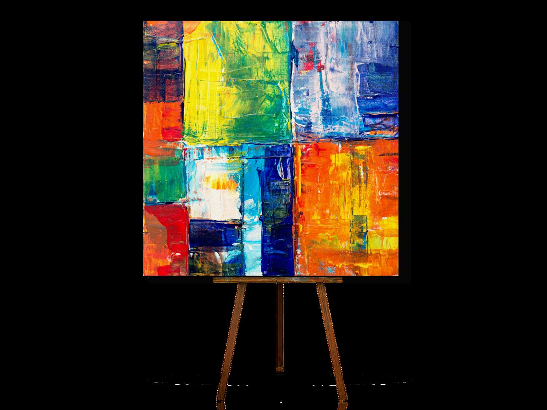 Modern Abstract Art, Abstract Art Wall, Wall Art Canvas.