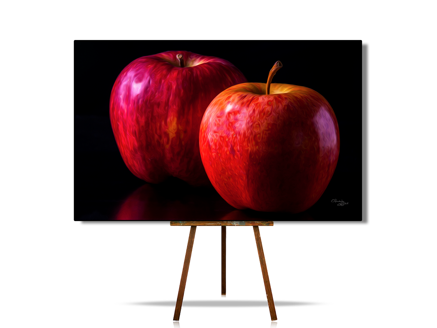Still Life In Art, Still Life With Apple, Realistic Still Life