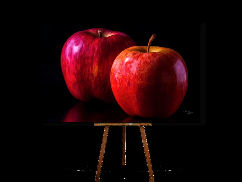 Still Life In Art, Still Life With Apple, Realistic Still Life