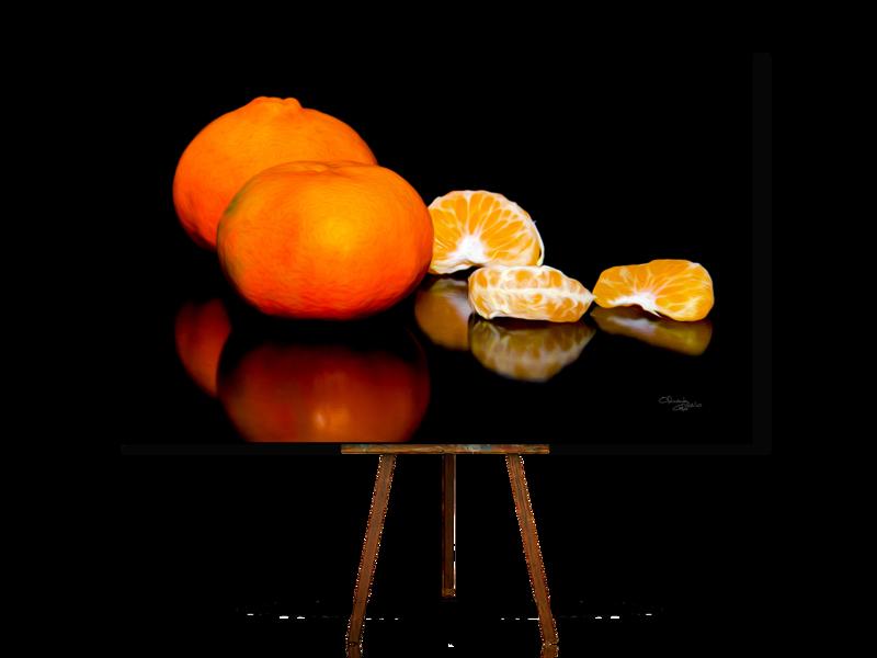 Tangerines, Still Life Art, Realistic Still Life