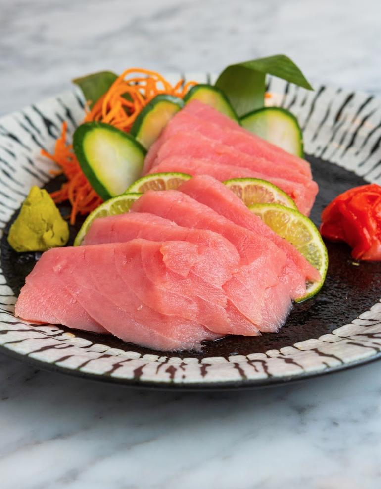 Sashimi de Tuna Roja
