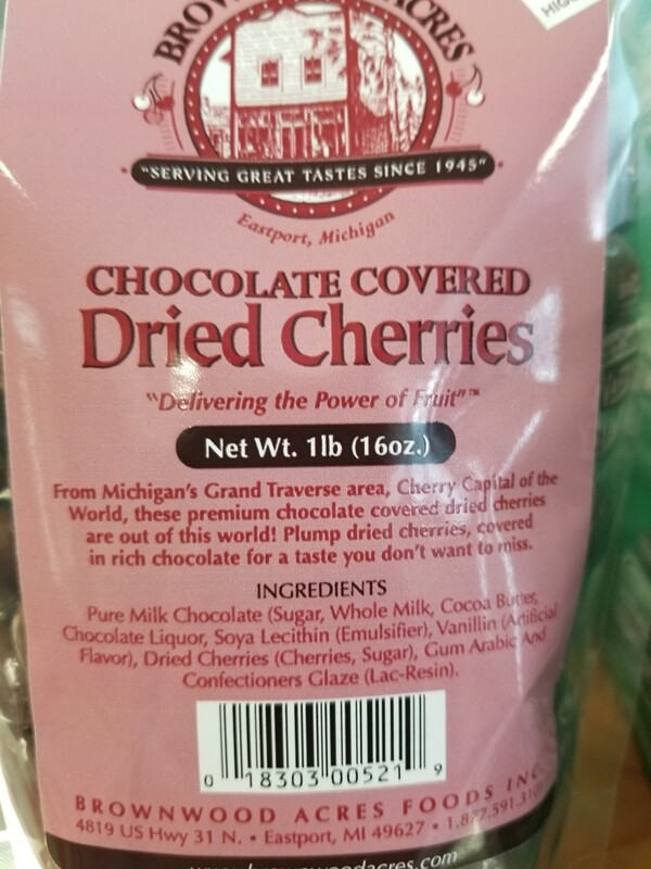 1 Lb Milk Chocolate Covered Cherries