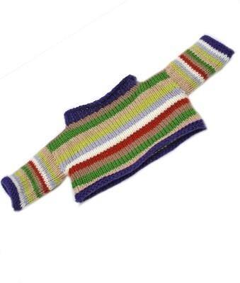 Hand Knitted stripey jumper